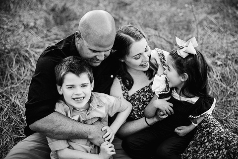 family laughing  | Raleigh Family Photography